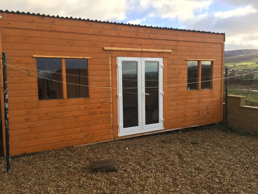 Man Caves Garden Bars Decking And Huts For You Pvc And Timber