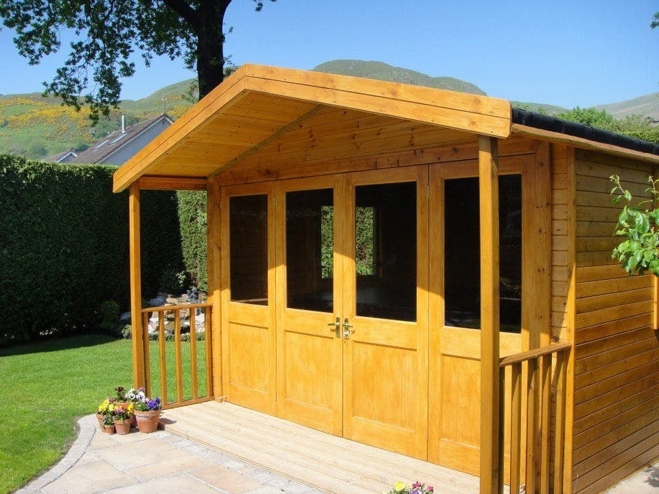 Garden Structures Decking And Huts For You Pvc And