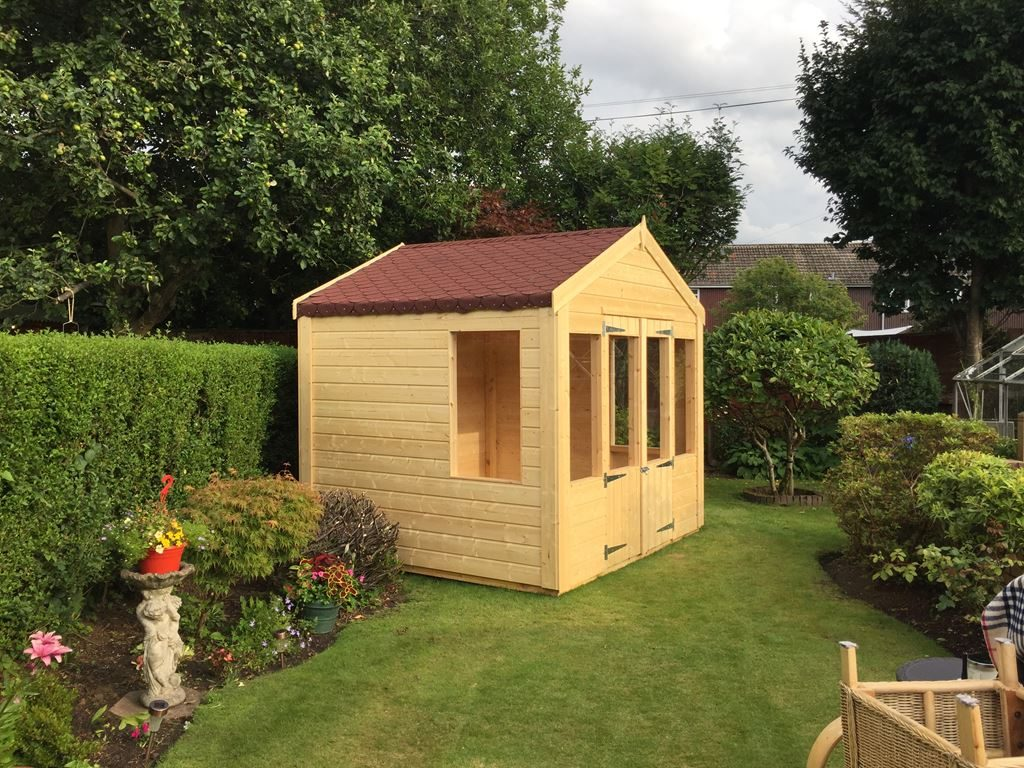 Summer Houses - Decking and Huts for You - PVC and Timber ...